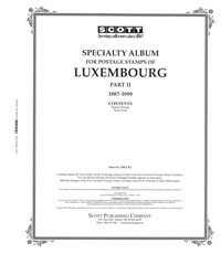 LUXEMBOURG 1987-1999 (36 PAGES)