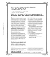 LUXEMBOURG 1990 #40 (4 PAGES)