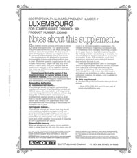 LUXEMBOURG 1991 (5 PAGES) #41