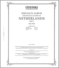 NETHERLANDS 1852-1948 (97 PAGES)