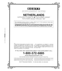 NETHERLANDS 1987 #38 (12 PAGES)