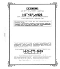 NETHERLANDS 1988 #39 (13 PAGES)