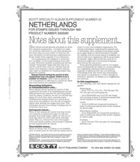 NETHERLANDS 1991 (12 PAGES) #42