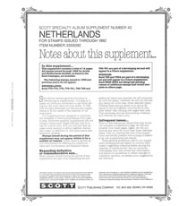 NETHERLANDS 1992 (17 PAGES) #43