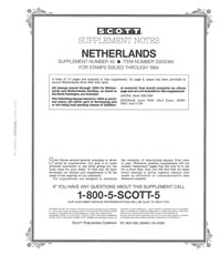 NETHERLANDS 1994 (13 PAGES) #45