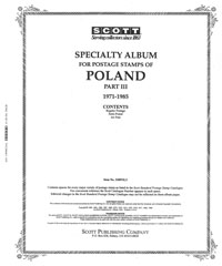 POLAND 1971-1985 (103 PAGES)
