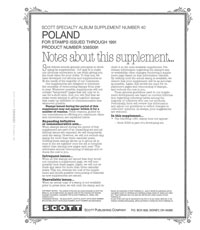 POLAND 1991 (7 PAGES) #40