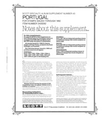 PORTUGAL 1992 (36 PAGES) #43