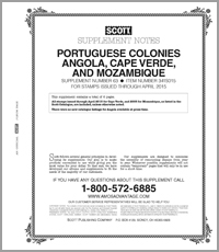 PORTUGUESE COLONIES 2015 (7 PAGES) #63