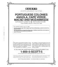 PORTUGUESE COLONIES 1998 (42 PAGES) #49
