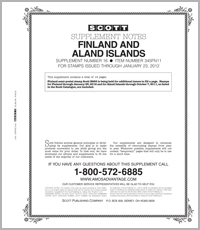 FINLAND & ALAND ISLANDS 2011 (15 PAGES) #16