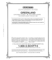 GREENLAND 1996 (4 PAGES) #1
