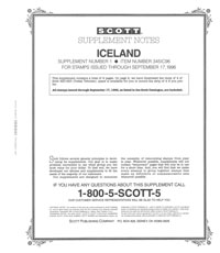 ICELAND 1996 (4 PAGES) #1