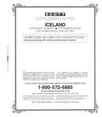 ICELAND 1997 (4 PAGES) #2