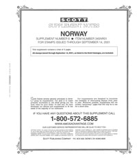 NORWAY 2001 (4 PAGES) #6