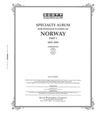 NORWAY 1855-1995 (90 PAGES)
