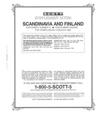 SCANDINAVIA 1990 (22 PAGES) #41