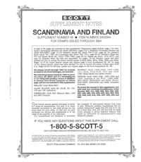SCANDINAVIA 1994 (36 PAGES) #45