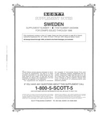 SWEDEN 1996 (6 PAGES) #1