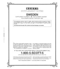 SWEDEN 1997 (5 PAGES) #2