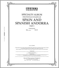 SPAIN 1850-1960 (95 PAGES)