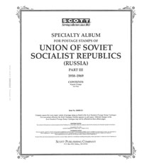 RUSSIA 1958-1969 (122 PAGES)
