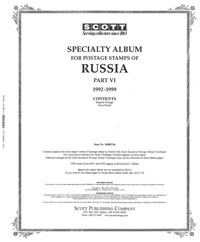 RUSSIA 1992-1999 (57 PAGES)