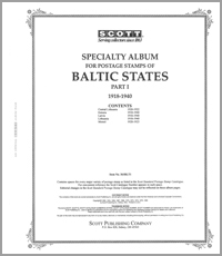 BALTIC STATES 1918-1940 (82 PAGES)