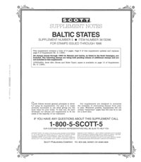 BALTIC STATES 1996 (10 PAGES) #5