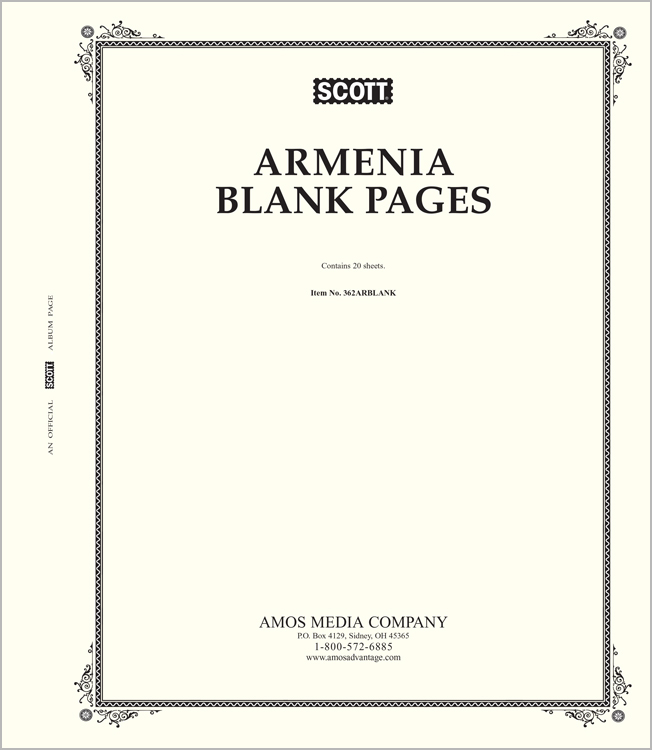 Scott Armenia Blank Pages