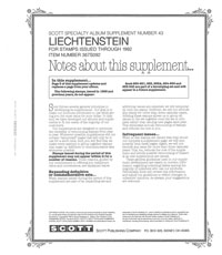 LIECHTENSTEIN 1992 (6 PAGES) #43