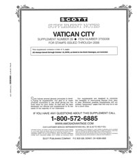 VATICAN 2006 (5 PAGES) #39
