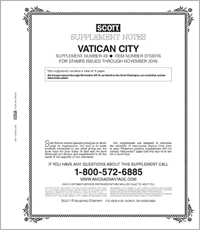 VATICAN 2016 (4 PAGES) #49