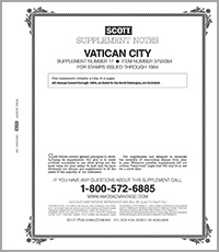 VATICAN 1984 #17 (3 PAGES)
