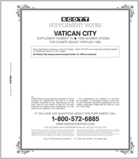 VATICAN 1985 #18 (4 PAGES)