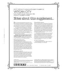 VATICAN 1990 (6 PAGES) #23