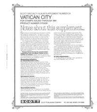 VATICAN 1991 (4 PAGES) #24