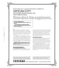 VATICAN 1992 (5 PAGES) #25