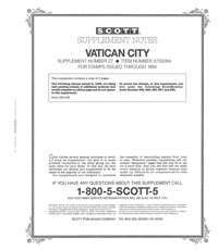 VATICAN 1994 (4 PAGES) #27