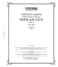 VATICAN CITY 1987-1999 (42 PAGES)