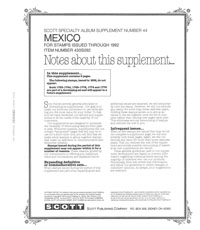 MEXICO 1992 (12 PAGES) #44