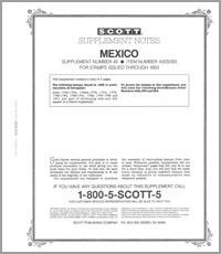 MEXICO 1993 (5 PAGES) #45