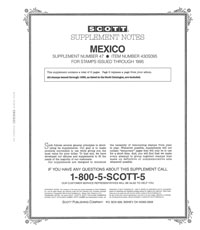 MEXICO 1995 (8 PAGES) #47