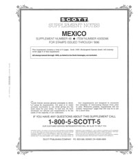 MEXICO 1996 (7 PAGES) #48