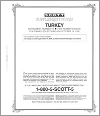 TURKEY 2000 (7 PAGES) #13