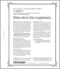 TURKEY 1990 (6 PAGES) #3