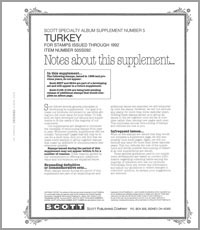TURKEY 1992 (7 PAGES) #5