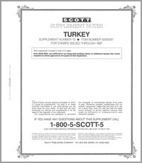 TURKEY 1997 (4 PAGES) #10