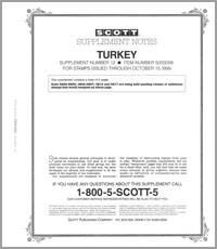 TURKEY 1999 (7 PAGES) #12
