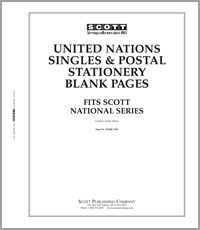 NATIONAL SERIES BLANK PAGES: UNITED NATIONS (PACK OF 21 SHEETS)